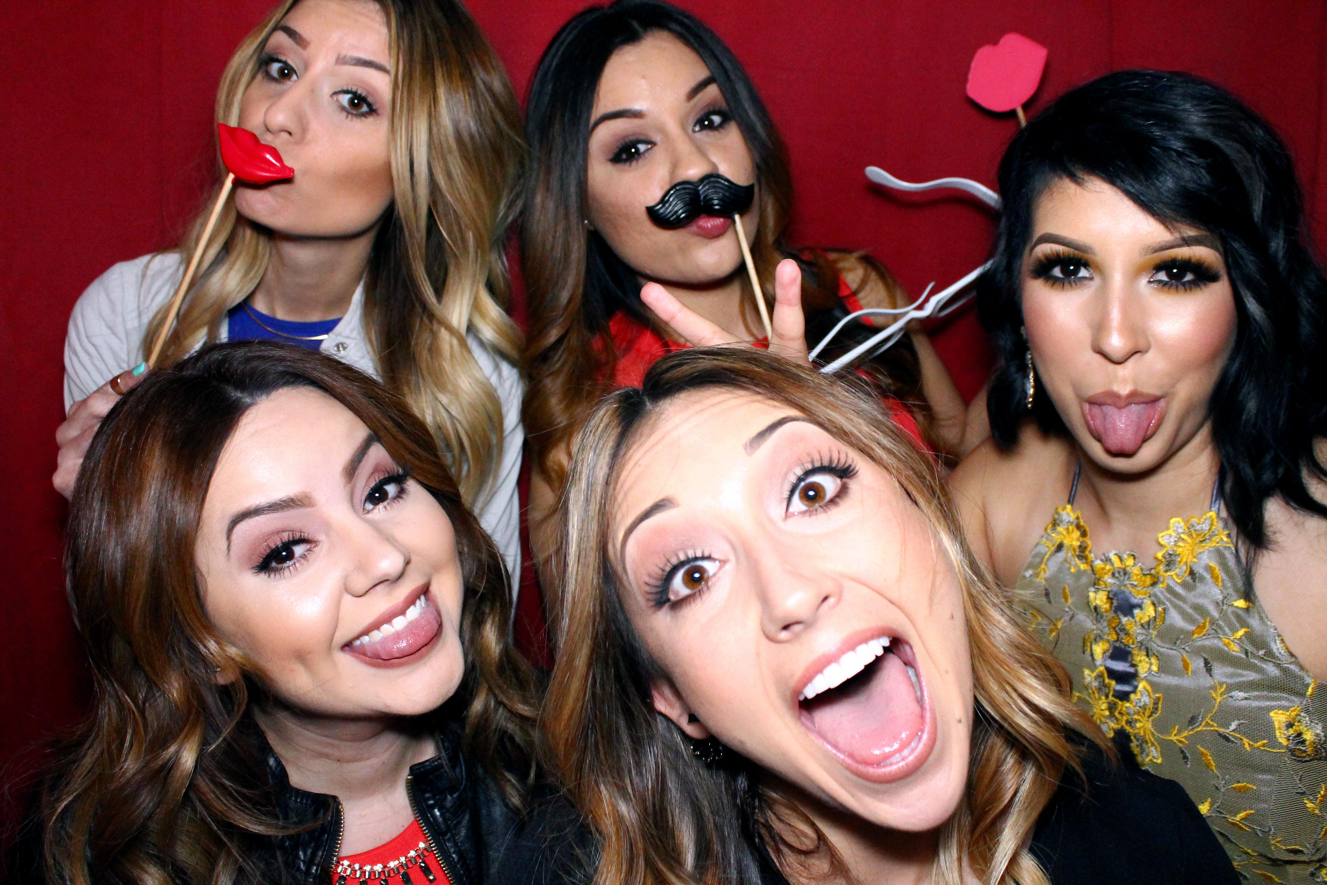 Fun in the photo booth